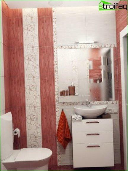 Color scheme for toilet design 18