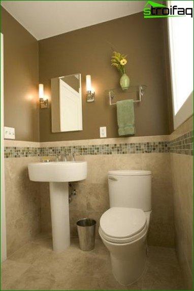 Lighting for toilet 4