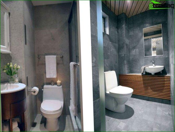 Toilet Design 2 sqm m - 2
