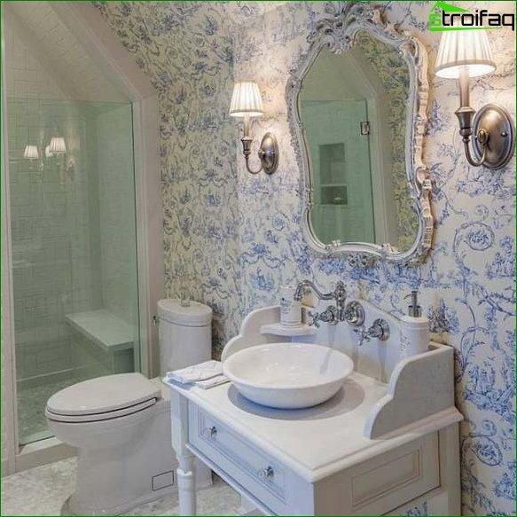 Large Area Toilet Design