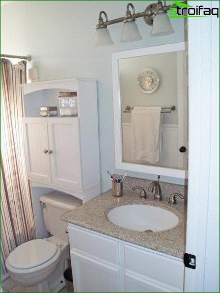 Large Area Toilet Design - 3