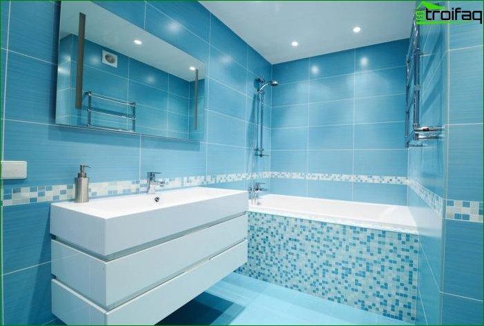 Tile for the bathroom (150 photos)