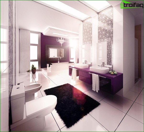 Tiles in the bathroom - 3