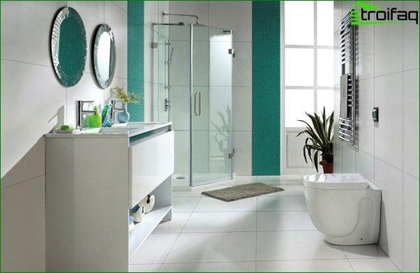 Tiles in the bathroom - 4