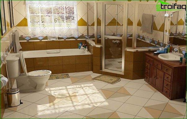 Glass tile - 2