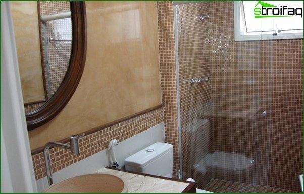 Tile for a bathroom in a prefabricated house - 5