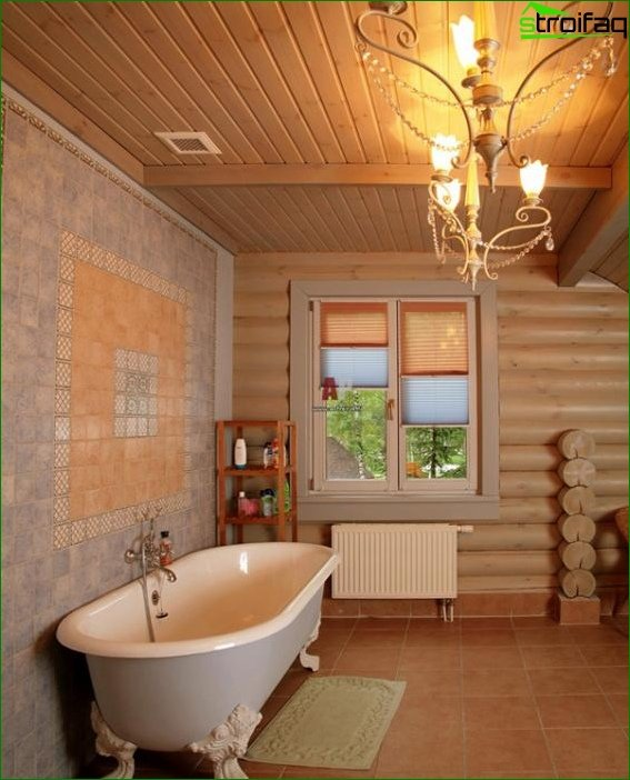 Tile for a bathroom in a private house - 2