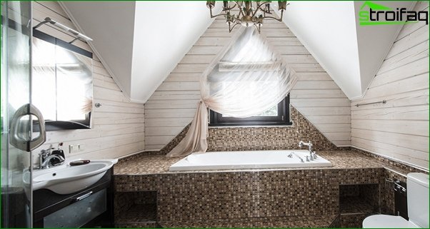 Tile for a bathroom in a private house - 8