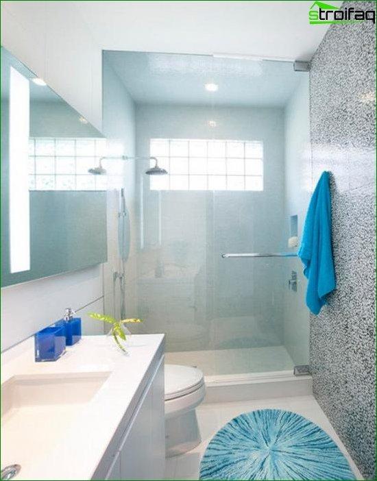 Tile for a small bathroom - 2