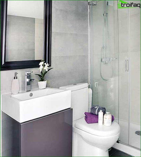 Tile for a small bathroom - 3