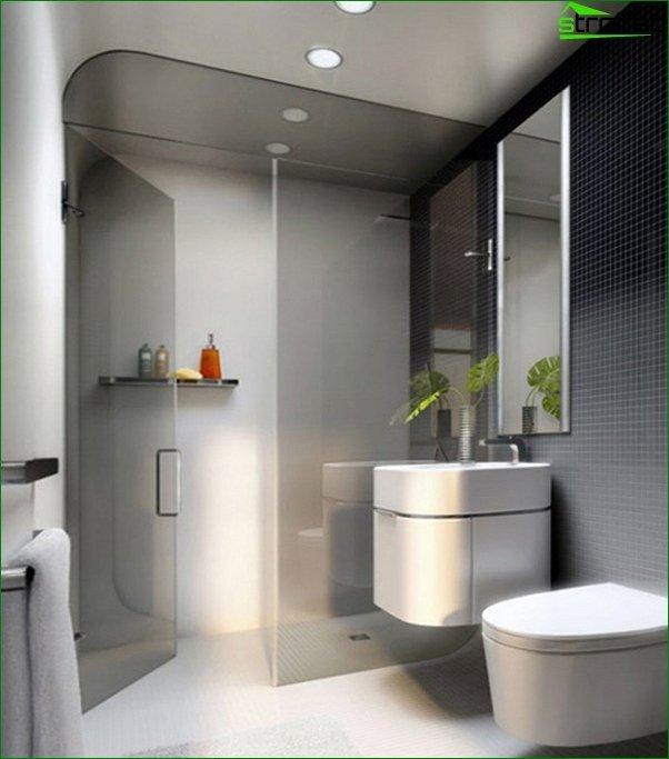 Tile for a small bathroom - 4