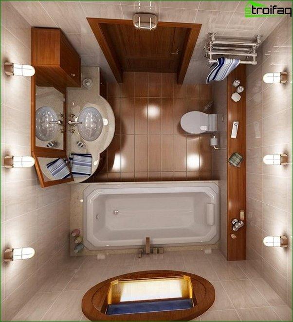 Tile for a small bathroom - 5
