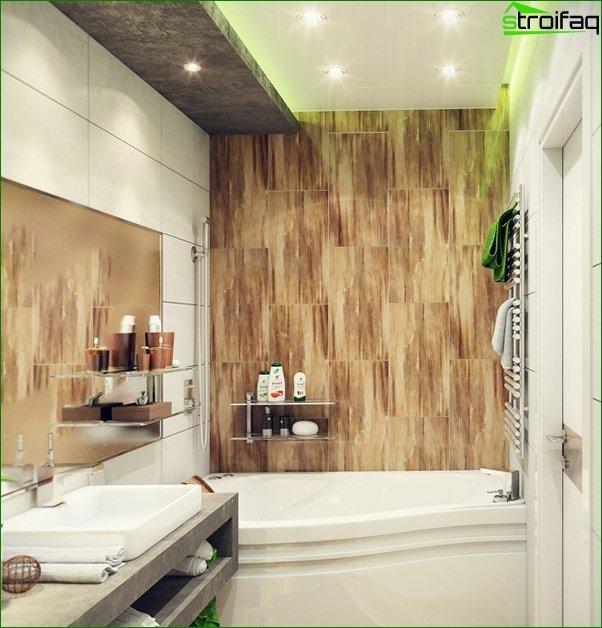 Tiling a small bathtub - 1