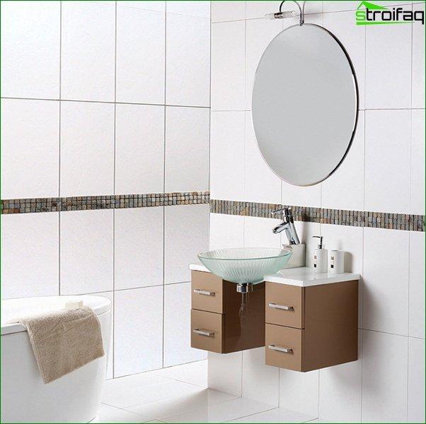 White tile in the interior - 3