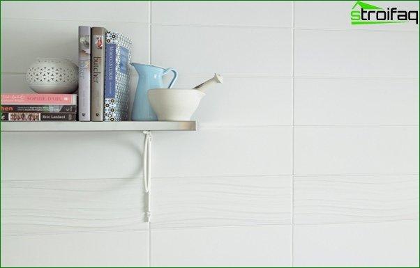White tile in the interior - 5