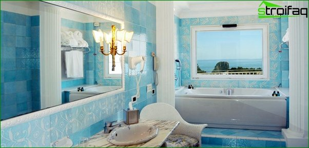 Blue tile - 2