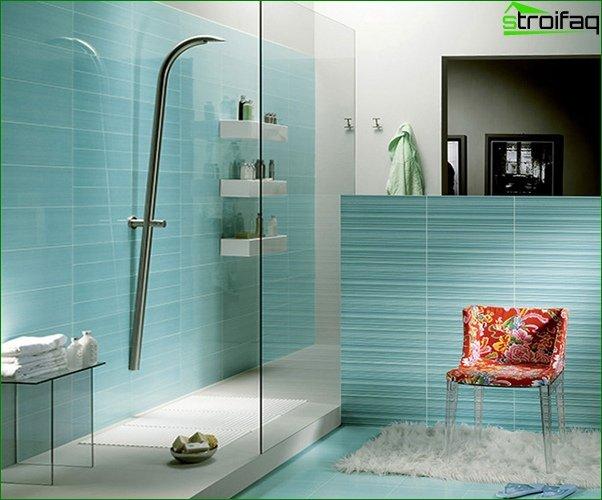 Blue tile - 5