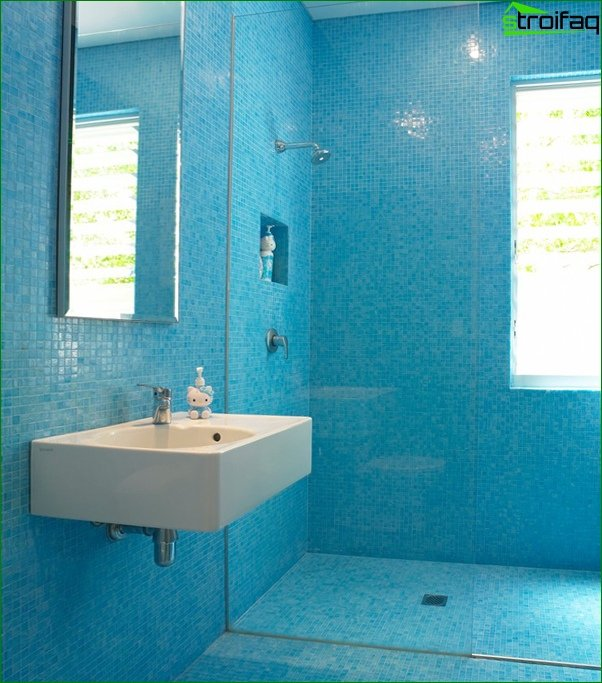 Blue Tile - 1