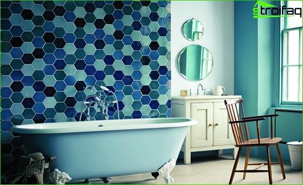 Blue Tile - 3