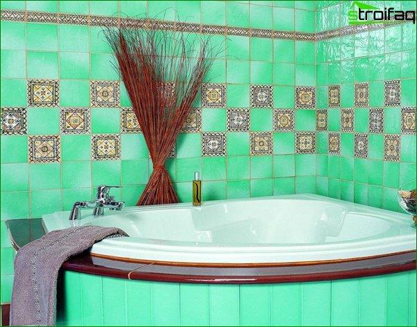 Green Tile - 1