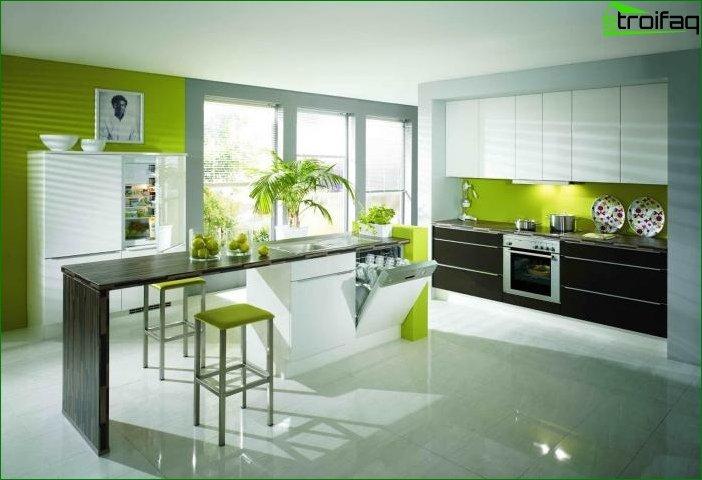 Diseño de interiores en verde - foto 4