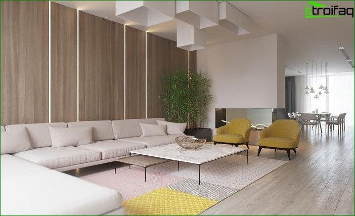 Diseño interior en tonos beige 4