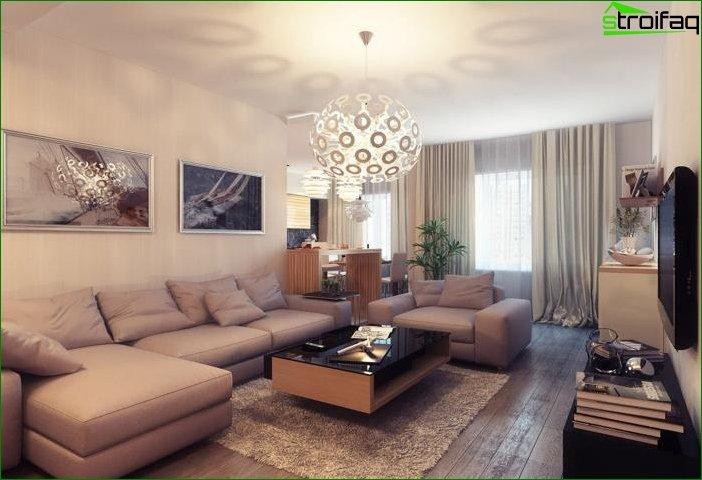 Diseño interior en tonos beige 6