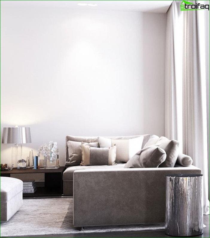 Diseño interior en tonos beige 7