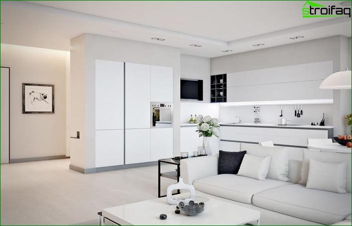 Interior blanco 5