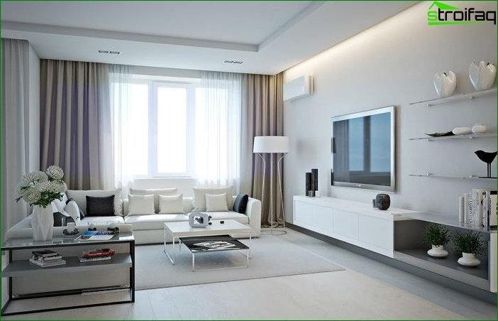 Interior blanco 8