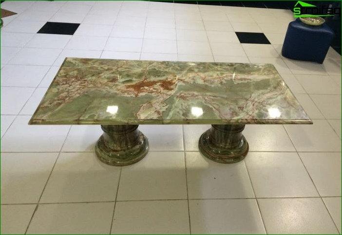 Productos de piedra en el interior 2
