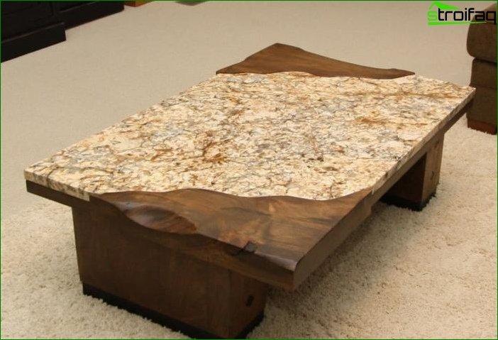 Productos de piedra en el interior 3