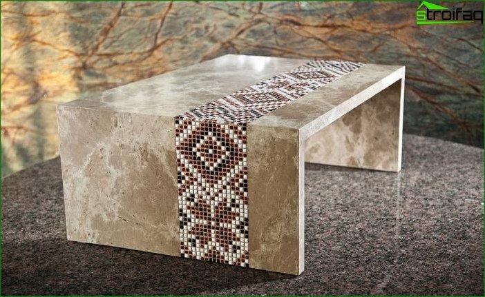 Productos de piedra en el interior 4
