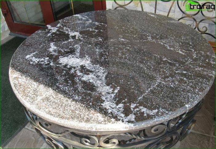 Productos de piedra en el interior 7