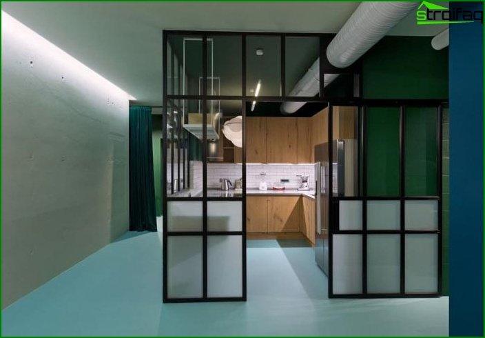 Interior de un estudio 7