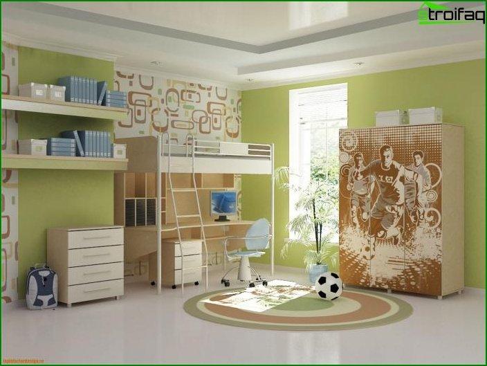 Choose a color scheme for the nursery 2