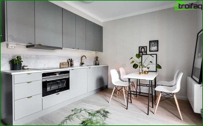 Apartamento tipo estudio de 23 m2. 3