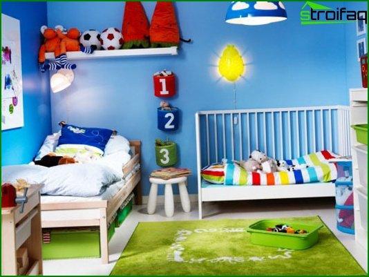 Choose a color scheme for the nursery 4