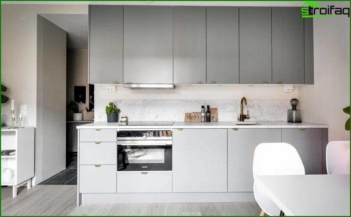 Apartamento tipo estudio de 23 m2. 4 4