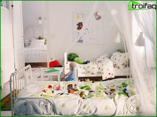 Choose a color scheme for the nursery 5