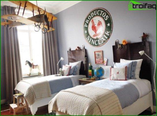 Choose a color scheme for the nursery 6