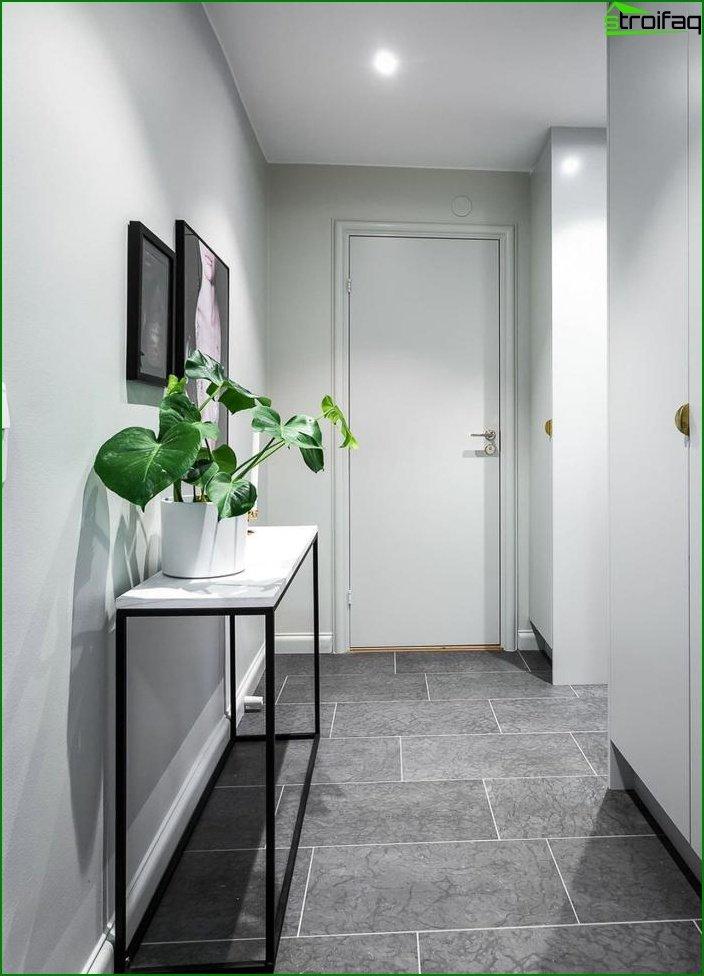 Apartamento tipo estudio de 23 m2. 7 7