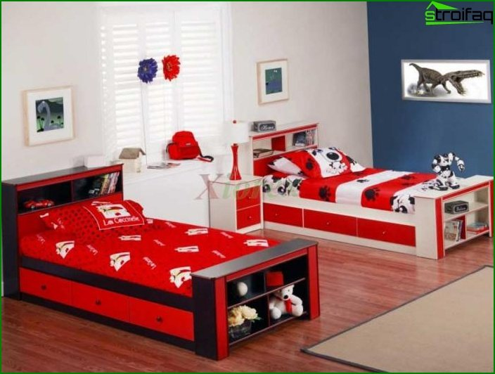 Choose a color scheme for the nursery 10