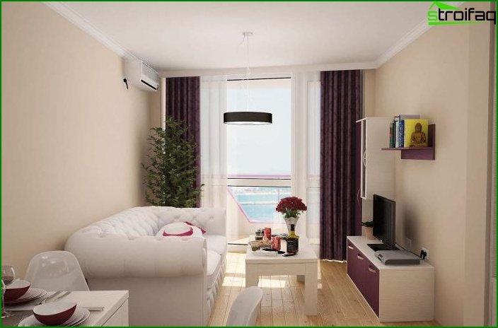 ¿Diseño de una habitación? apartamentos 2