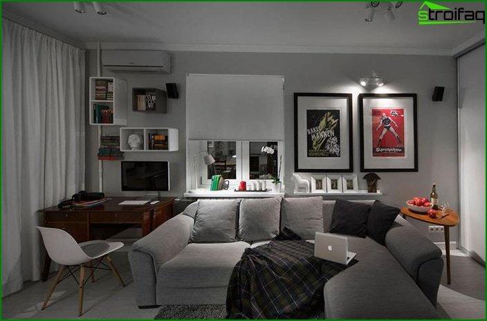 ¿Diseño de una habitación? apartamentos 3