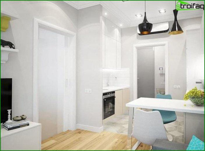 Interior de dos habitaciones? apartamentos 1