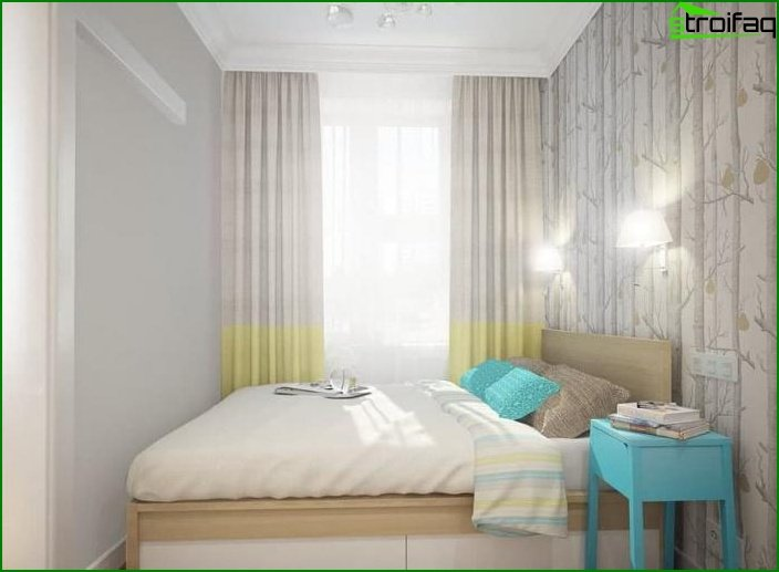 Interior de dos habitaciones? apartamentos 4