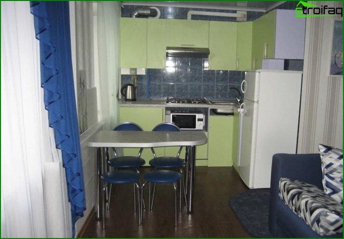 ¿Diseño de dos habitaciones? apartamentos 1