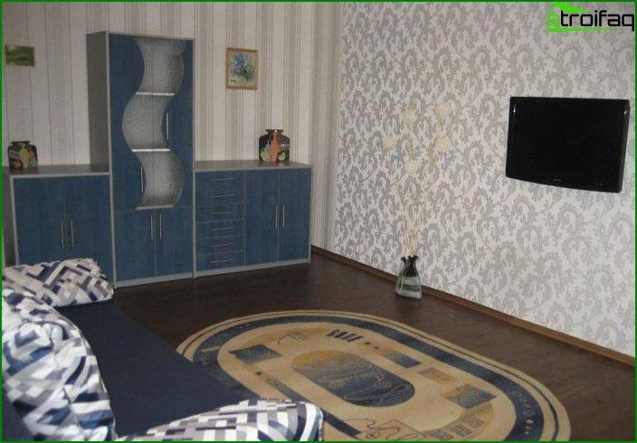 ¿Diseño de dos habitaciones? apartamentos 2