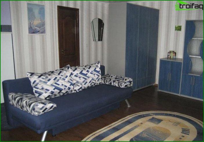 ¿Diseño de dos habitaciones? apartamentos 4